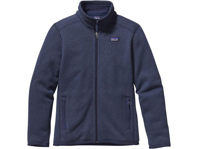 Patagonia Better Sweater Jacket Pojkar classic navy